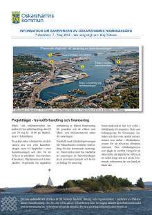 Nyhetsbrev 7 - Projekt sanering av Oskarshamns hamnbassäng