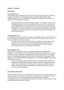Området- info om de medverkande med flera