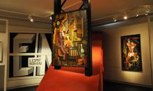 Visning av GAN på Kulturen 50 år efter konstnärens bortgång