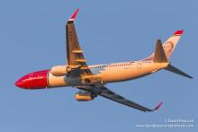 Pilotstrejken hos Norwegian orsakade extra kostnader och inkomstbortfall i storleksordningen 350 MNOK