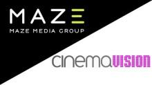 Maze Media i samarbete med Cinemavision