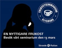 En nyttigare frukost - StroedeRalton frukostseminarium i Göteborg