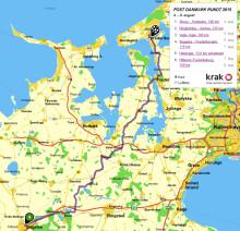 Kom helt tæt på Post Danmark Rundt med Krak