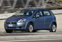 Fiat Grande Punto Natural Power ny biogasbil
