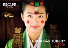 Ny katalog fra Escape Travel - Hvor går turen 2016