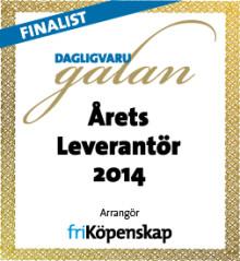 """Findus nominerad i kategorin """"Årets leverantör"""" som delas ut på 2014 års Dagligvarugala"""