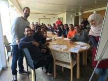 Asylboende i brand – Studiefrämjandet fortsätter verksamheten