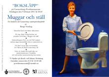 Inbjudan till BOKSLÄPP på Gustavsbergs Porslinsmuseum