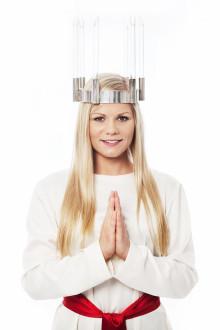 Louise Andersson är Malmö stads Lucia 2014!