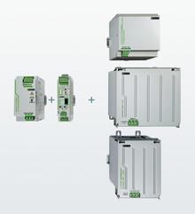 Modulär UPS med olika energilagringsmoduler