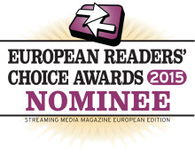 ​Xstream is nominated in 6 categories for the Streaming Media Readers Choice Award 2015