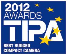 """Pentax Optio WG-2 utnämnd till """"bästa stryktåliga kompaktkamera 2012"""""""