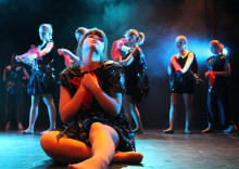 Premiär av dansföreställningen Oknytt!