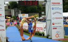 Eva Nyström, Thule Crew Triathlet, världsmästare i duathlon på långdistans för andra året i rad i Schweiziska Zofingen
