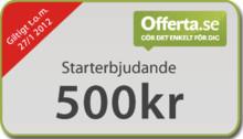 Offerta bjuder nya medlemmar på kundförfrågningar för 500 kr