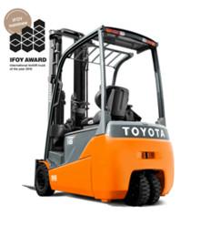 Toyota Material Handling Finland Oy - Toyotan kaksi trukkia on ehdolla Vuoden trukki – palkinnon saajaksi