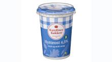 Tilbagekaldelse: Karolines Køkken Hytteost 4,5% 450g