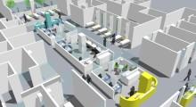 Tillfällig flytt när framtidens akutmottagning byggs på Östra sjukhuset