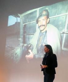 Äventyraren Renata Chlumska invigde ny utställning
