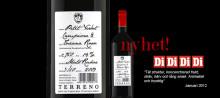 Nyhet från den svenska vinproducenten Terreno - Terreno Petit Verdot 2009!