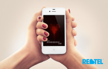 Say 'I Love You' with Free Valentine's Day-Inspired Heartbeat App from Rebtel