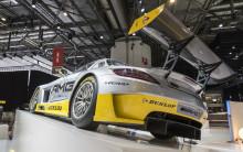 Dunlop viser Mercedes-Benz SLS AMG GT3 i samarbeid med AMG Customer Sports