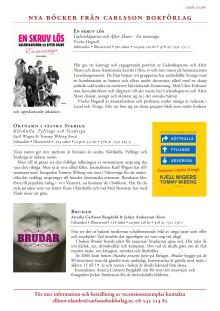 Nyhetsbrev nr 1 - oktober 2008