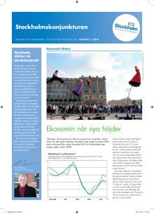 Stockholmskonjunkturen kvartal 3 2010