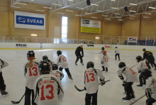 "Mats Sundin ""Hall of Fame camp"" i Sollentuna"