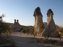 Walking among the ruins of Troy