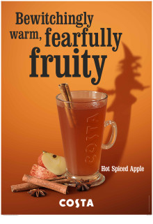 Fiendish indulgence is on the menu at Costa this Halloween