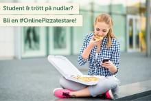 OnlinePizza söker studenter i Göteborg för sommarens matnyttigaste extraknäck