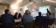 Holländska chefer inom offentlig sektor på besök hos Praktikertjänst