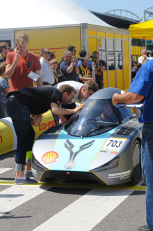 Pallplass til NTNU i Shell Eco-marathon