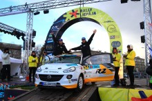 Svensk seger i junior EM i rally!