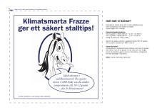 Sänk värmen i sadelkammaren och spar 4680 kronor - Frazzes klimattips del 6