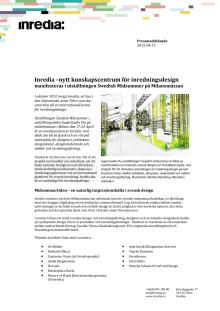 Pressmeddelande på svenska om Inrediamontern Swedish Midsummer på Milan Fair 2012