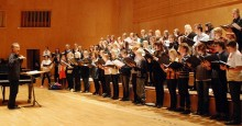 Höstlovskören sjunger Händels Messias