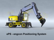 Tiltrotatorer anpassas för ePS – engcon Positioning System