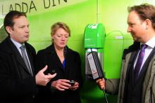 Ulla Hamilton: Tanka elbilen med mobilen