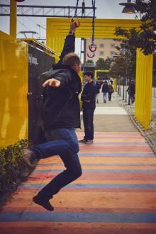 AkzoNobel och Helsingborgs stad skapar tryggare gångstråk
