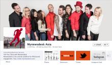 Mynewsdesk Asia Gets Social!