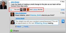 Projectplace lanceert 'Vind ik leuk'-functie