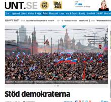Viktigt med fortsatt stöd till ryska demokrater