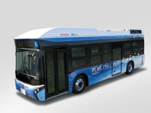 Toyota börjar sälja bränslecellsbuss 2016