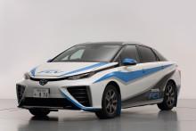 Toyotas bränslecellsbil debuterar – i rally!
