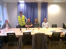 Premiär i Sundsvall för Skotta säkerts informationsturné
