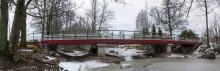 Tekniska fördelar bakom Mölntorps första vägbro i trä