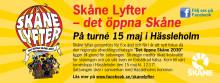 Skåne lyfter - i Hässleholm den 15 maj!