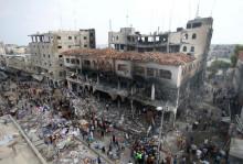 Israel/Gaza: Urskiljningslösa attacker mot höghus